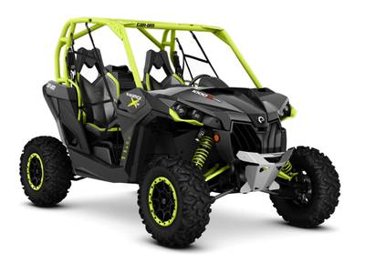 2016 Maverick X ds TURBO 1000R Carbon Black Manta Green