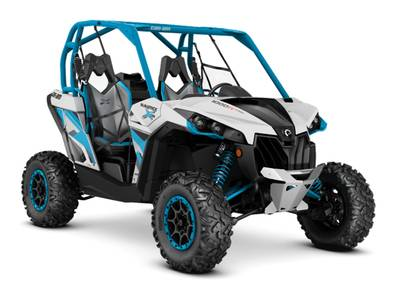 2016 Maverick X ds TURBO 1000R Hyper Silver Octane Blue