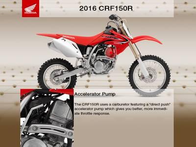 2016 Honda® CRF150R Expert | RideNow Chandler / Euro