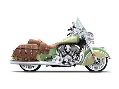 2016 Chief Vintage Willow Green and Ivory Cream