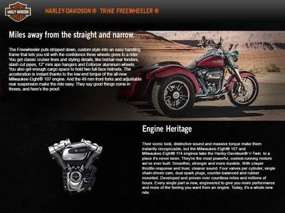 2017 Harley-Davidson® Freewheeler® Base | Eastside Harley