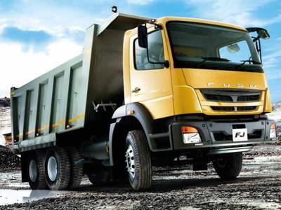 2016 Mitsubishi Fuso FJ TIPPER/MIXER | Lone Star Truck & Equipment