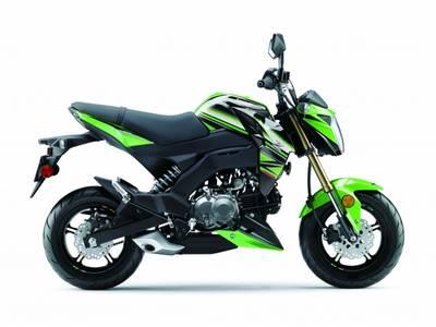 2017 Kawasaki Z125 PRO KRT