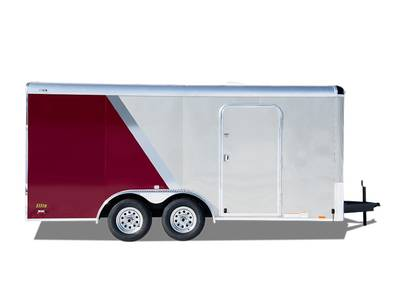 2017 Continental Cargo Elite Series 8' Wide Gooseneck CCG