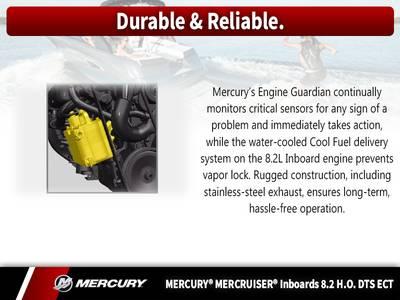 2017 Mercury Marine® MerCruiser® Inboard 8 2 H O  DTS ECT