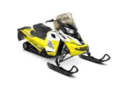 2018 Ski Doo MXZ® TNT® Ripsaw 1.25 Rotax® 600 H.O. E-TEC® REV-XS White&SunburstYellow