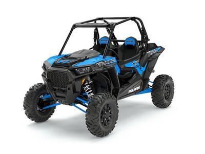 2017 RZR XP Turbo EPS Velocity Blue