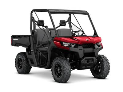 2018 Can-Am Defender DPS HD8 Intense Red for sale 66681
