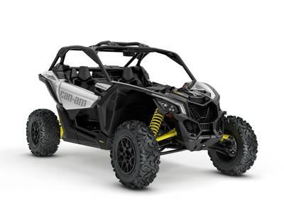 2018 Can-Am Maverick X3 Turbo Hyper Silver Sunburst Yellow for sale 73534