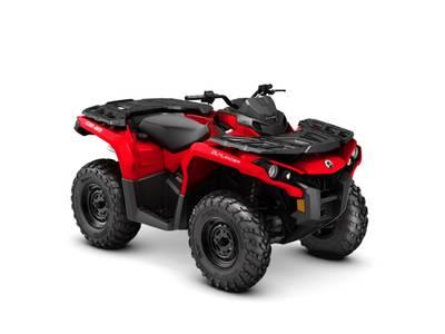 New  2018 Can-Am® Outlander 650 ATV in Houma, Louisiana