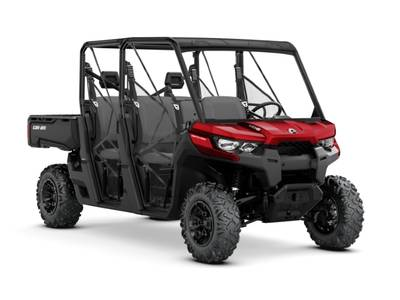 2018 Can-Am ATV Defender MAX DPS™ HD8 Intense Red