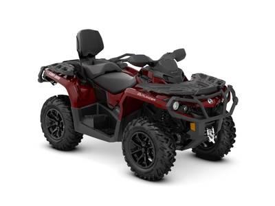 2018 Can-Am ATV Outlander™ MAX XT™ 650 Intense Red