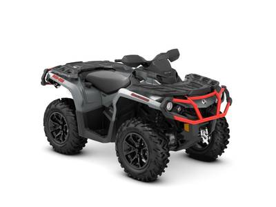 2018 Can-Am ATV Outlander™ XT™ 650 Brushed Aluminum & Can-Am Red