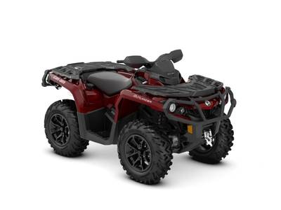2018 Can-Am ATV Outlander™ XT™ 650 Intense Red