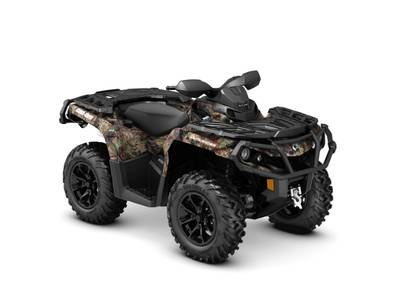 2018 Can-Am ATV Outlander™ XT™ 650 Mossy Oak Break-up Country Camo