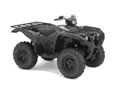 New  2018 Yamaha Grizzly EPS Graphite ATV in Roseland, Louisiana
