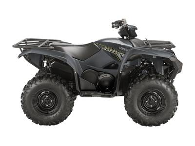 2018 Yamaha Grizzly-EPS-Gray-steel-wheels