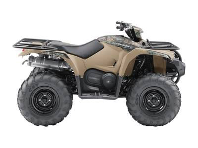 Yamaha Kodiak 450 EPS Beige with camo graphics (steel wheels)
