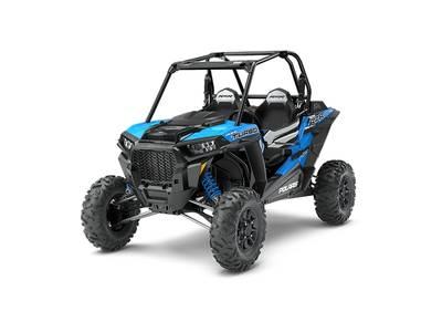2018 Polaris RZR XP Turbo EPS Velocity Blue 1