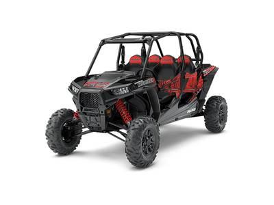 New  2018 Polaris® RZR XP® 4 1000 EPS Black Pearl Golf Cart / Utility in Roseland, Louisiana