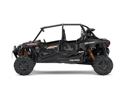 2018 RZR XP 4 1000 EPS High Lifter Edition Stealth Blac