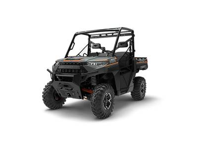 2018 Polaris Ranger XP 1000 EPS Matte Titanium Metallic 1