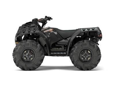 2018 Sportsman 850 High Lifter Edition Cruiser Black