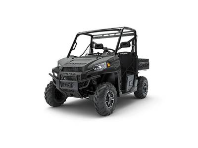 2018 POLARIS® RANGER XP® 900 EPS MATTE TITANIUM METALLIC