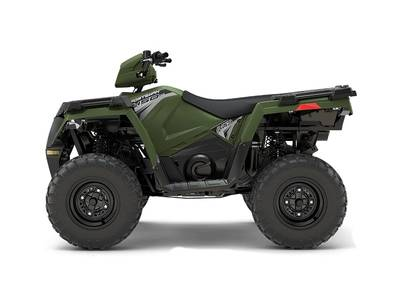 2018 Sportsman 450 H O Sage Green