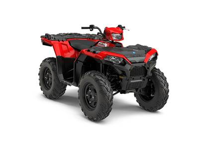 New  2018 Polaris® Sportsman® 850 Indy Red ATV in Houma, Louisiana