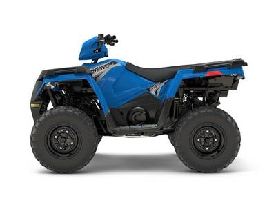 2018 Sportsman 450 H O EPS Velocity Blue