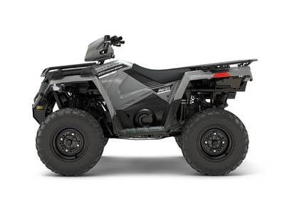 2018 Sportsman 450 H O Utility Edition Ghost Gray