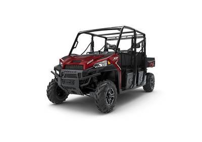 2018 Ranger Crew XP 1000 EPS Sunset Red Metallic