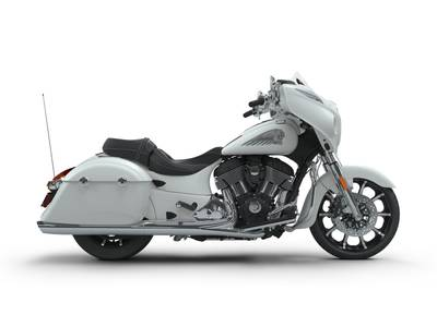 2018 Chieftain Limited ABS White Smoke