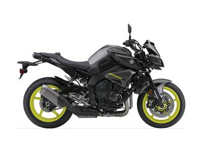 2018 Yamaha MT-10 Metallic Gray