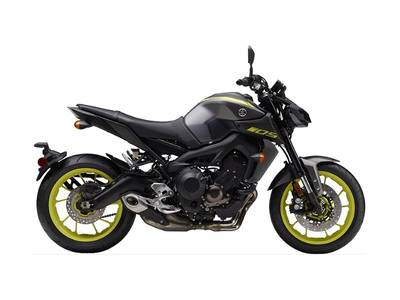 2018 Yamaha MT-09 Matte Metallic Gray