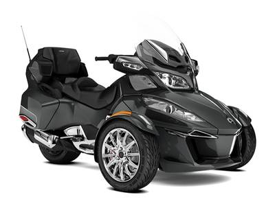 New  2018 Can-Am® Spyder® RT Limited Chrome Trike in Houma, Louisiana