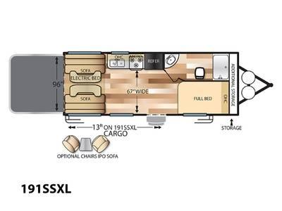 e65e636686 2019 Forest River Salem Cruise Lite 191SSXL Spanish Fork Utah