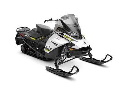 2019 Ski Doo MXZ® TNT® Rotax® 600R E-Tec® White & Black
