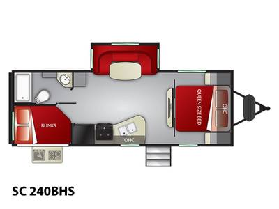 9b73f82c02 2019 Cruiser RV Shadow Cruiser SC 240BHS Spanish Fork Utah