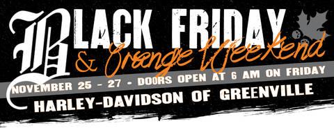 Harley Davidson Motorclothes Black Friday