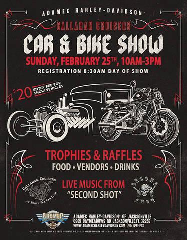 Calendar Events Adamec HarleyDavidson Jacksonville Florida - Car show jacksonville fl