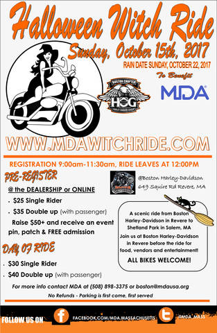 Boston Harley Davidson Halloween Ride 2020 Calendar of Events in Boston, Massachusetts, near Cambridge