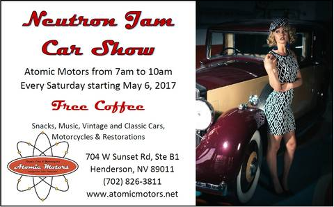 Event Calendar Atomic Motors Henderson Nevada - Car show event calendar