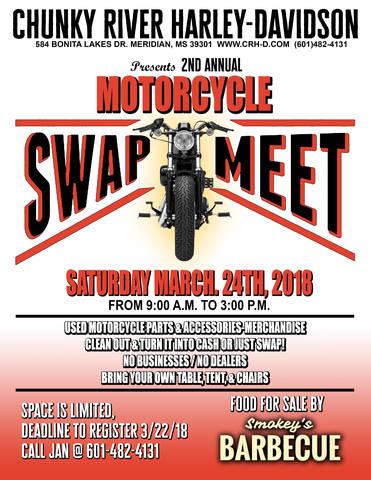 Event Calendar | Chunky River Harley-Davidson® | Meridian Mississippi