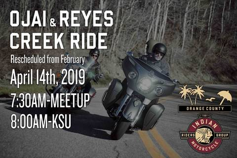 Event Calendar for Indian® Motorcycle of Orange County in