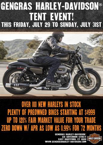 OVER 100 NEW HARLEYS & Event Calendar | Gengras Harley-Davidson® | East Hartford Connecticut