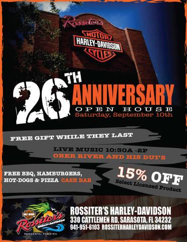 event calendar | rossiter's harley-davidson® | sarasota florida
