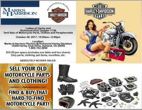 Calendar Events | Richmond Harley-Davidson® | Ashland Virginia