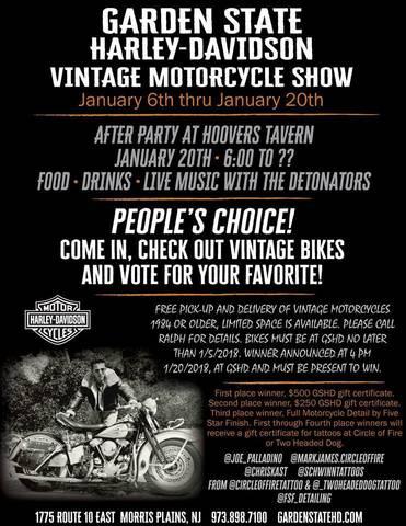 Calendar Events   Garden State Harley-Davidson®   Morris Plains New